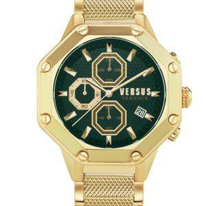 Versace Versus Green Enamel Dial Watch